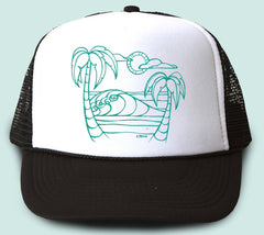 Two Palms Trucker Hat