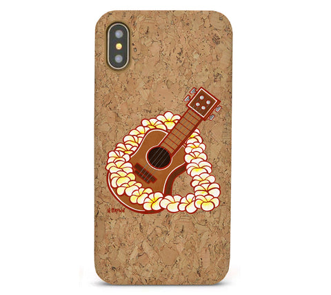 Ukulele Cork iPhone 8/X/11 Cases