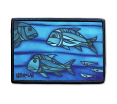 Uluas patch artwork by Hawaii artist Heather Brown