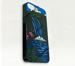 Deatil - Waimea Falls iPhone Case by Hawaii artist Heather Brown