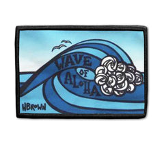 Wave of Aloha patch artwork by Hawaii artist Heather Brown