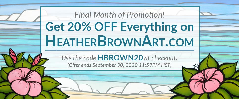 Limited Time Release from Heather Brown Art!