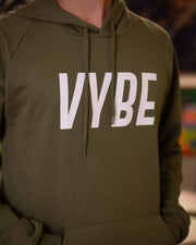 VYBE Moss Green Hoodie