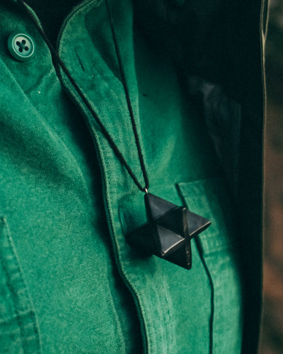 Shungite Merkaba protection pendant