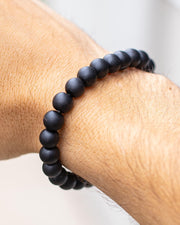 Shungite beaded bracelet