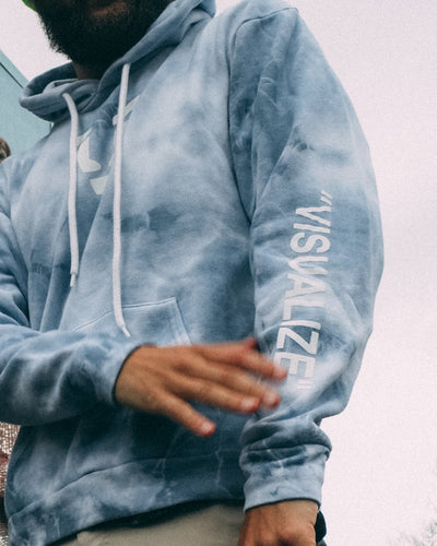 "Vybe ""VISUALIZE"" cloud hoodie"