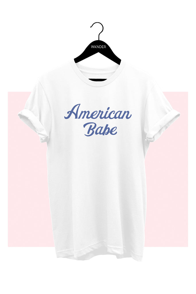 American Babe Graphic T-Shirt