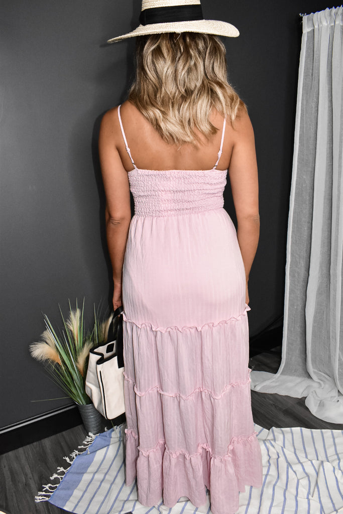 Chic Cut Out Maxi Dress
