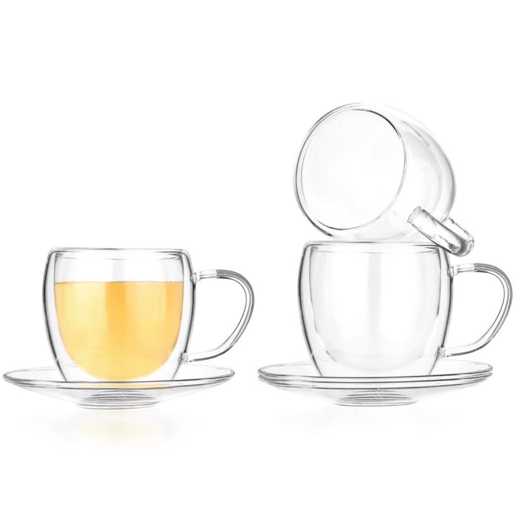 Double Wall Tea & Coffee Glass Set
