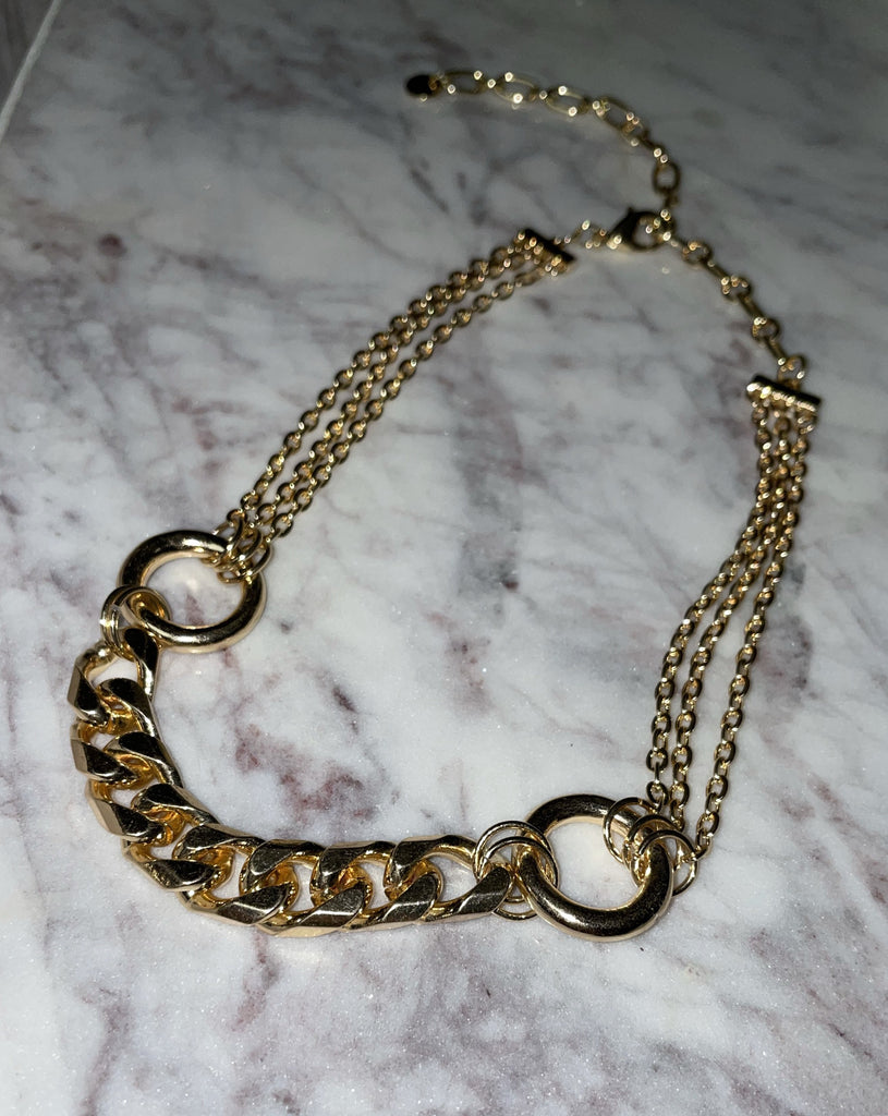 Bossy Mixed Chain Necklace