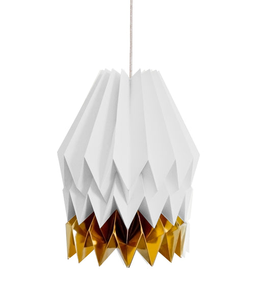 White and Gold Lamp