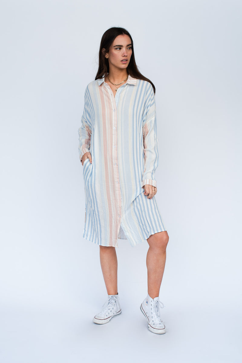 She's Everything Shirt Dress