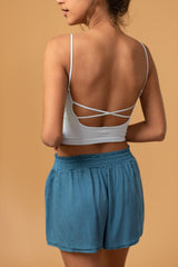 Strappy Back Seamless Cami