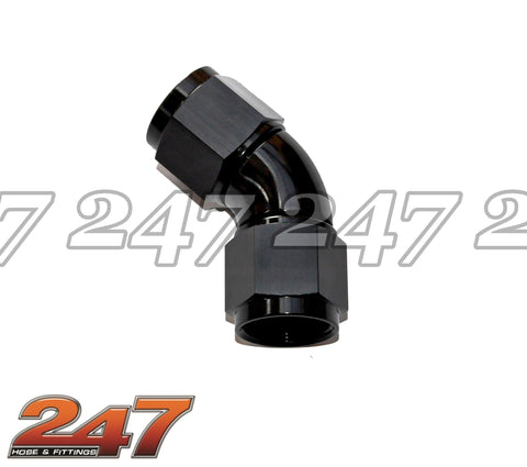 45 DEG Full Flow Female Coupler