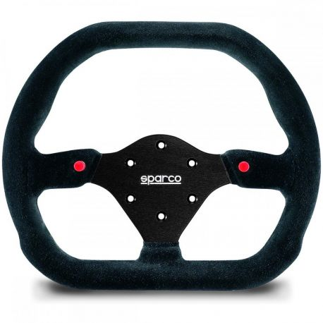 Flat Steering Wheel With Buttons