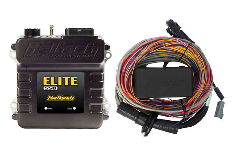 Elite 550 + Premium Universal Wire-in Harness Kit 5m