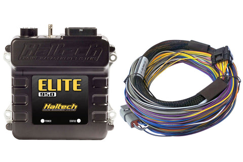 Elite 950 + Basic Universal Wire-in Harness Kit 2.5m
