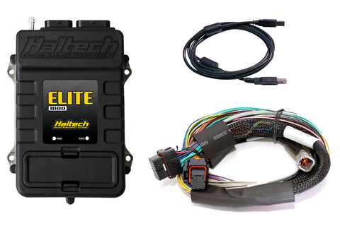 Elite 1000 + Basic Universal Wire-in Harness Kit 2.5m