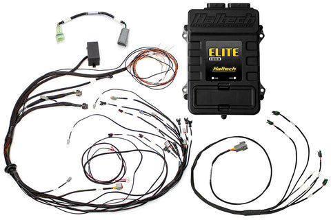 Elite 1000 + Mazda 13B S4/5 CAS with IGN-1A Ignition Terminated Harness Kit