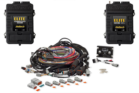 Elite 2500 + Race Expansion Module (REM) + 16 Injector Integrated Universal Wire-in Harness Kit