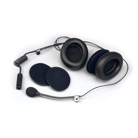 WRC Full Face Headset Kit With Earmuffs
