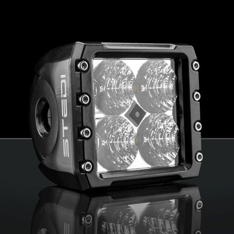 C-4 BLACK EDITION LED LIGHT CUBE | FLOOD