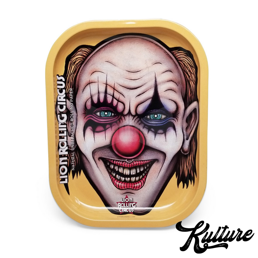 LION ROLLING CIRCUS TRAY - SMALL