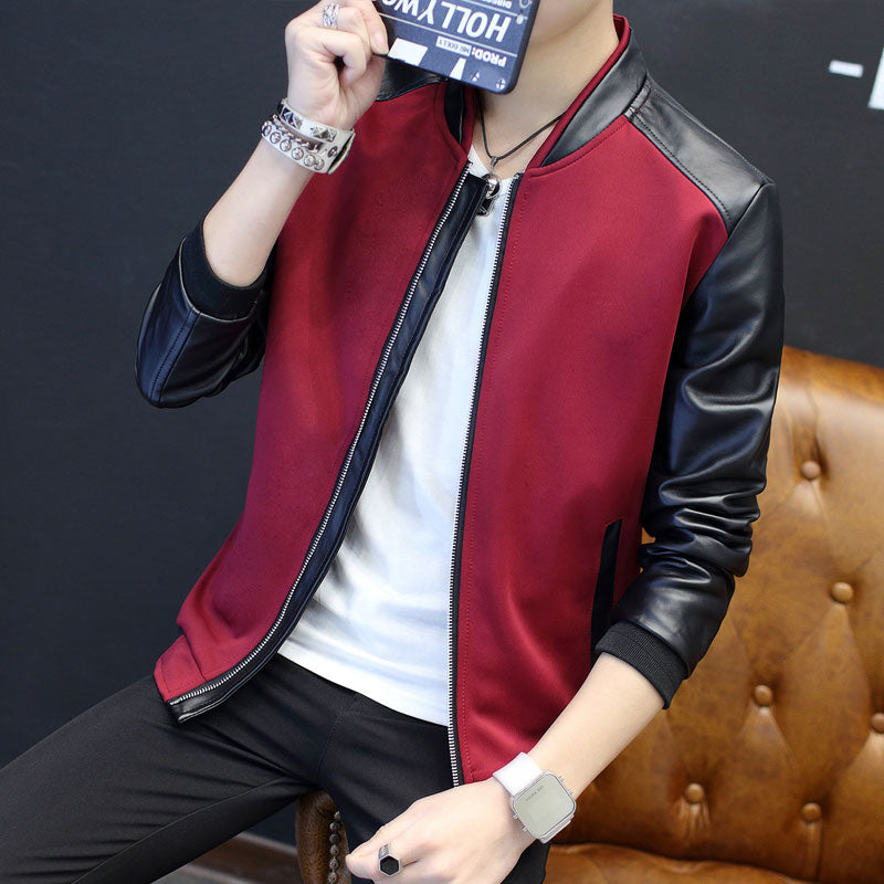 Leather Jacket : Aiden