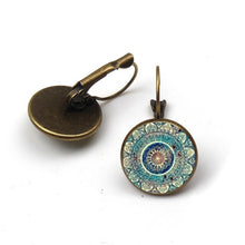 Load image into Gallery viewer, Earrings : Mandala