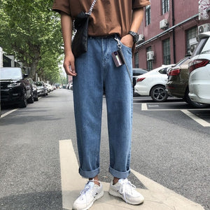 Denim Boyfriend Pants : Ellis