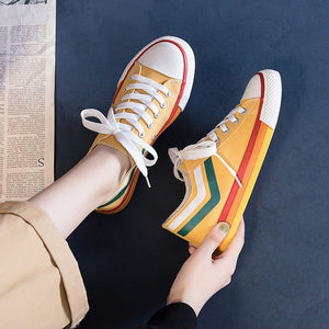 Canvas Sneakers : Topaz