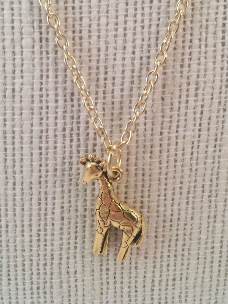 canada sustainable products giraffe ethical pendant statement elegance necklace boutique recycled alora calgary fashion gracefulness