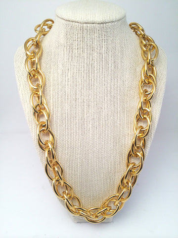 double chain loop necklace