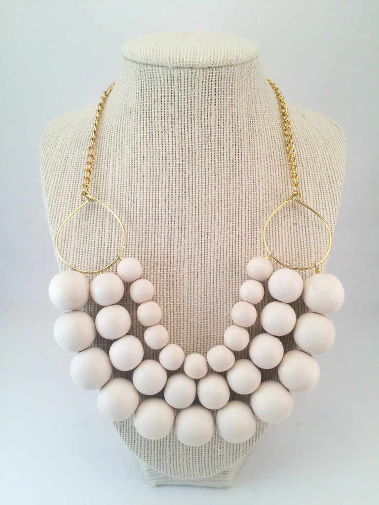 graduated bib necklace