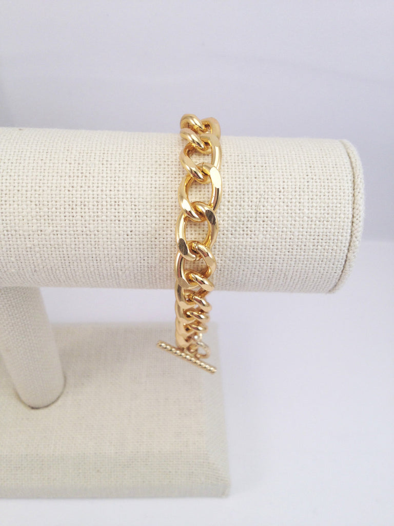 chain link bracelet, small