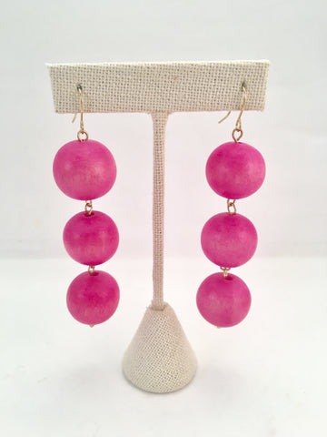 3 bauble earrings