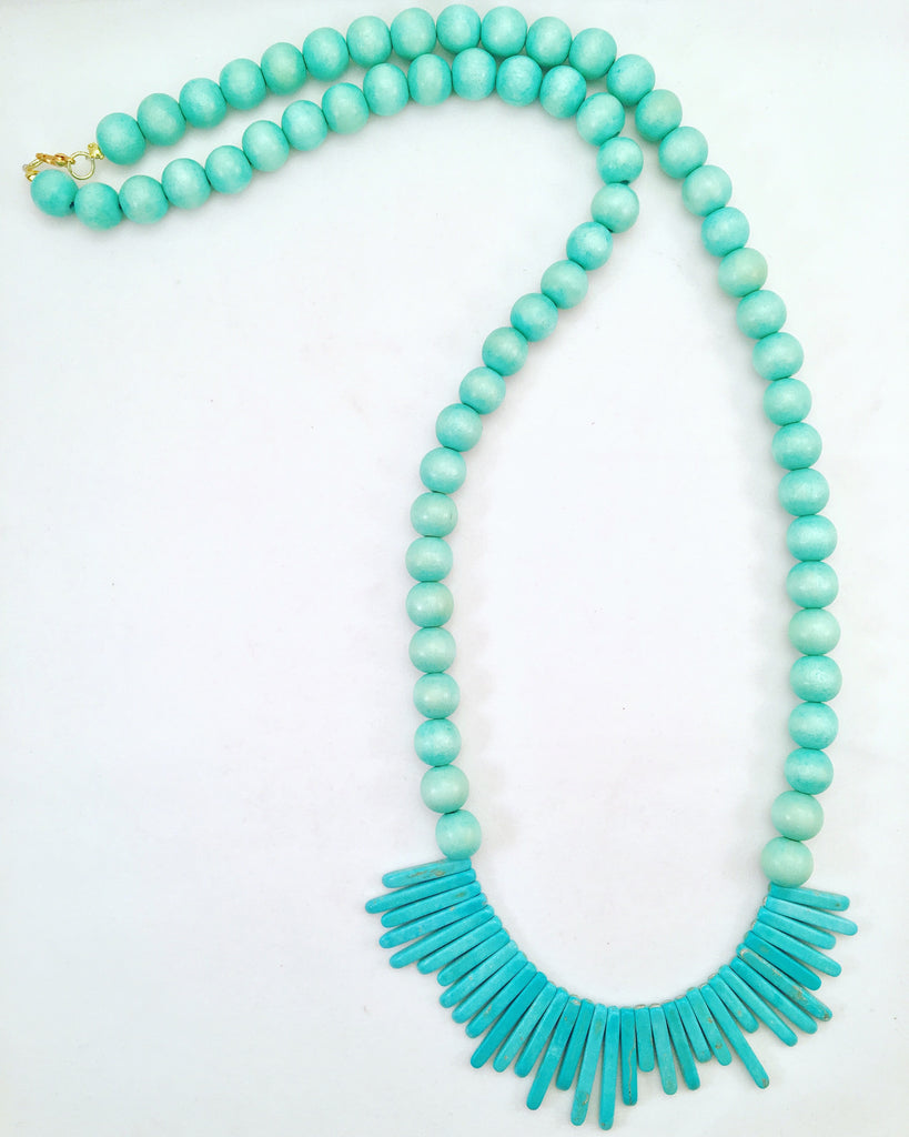 plain Jane jagged necklace