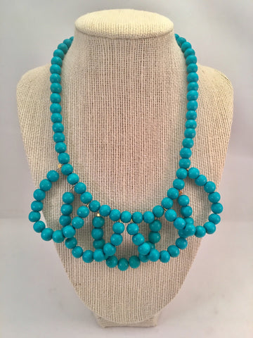 mini Turkish loop necklace
