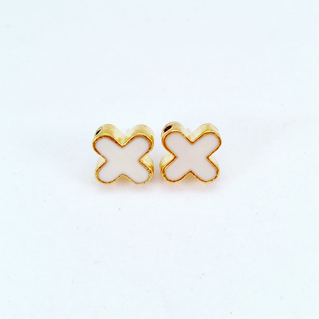x stud earrings