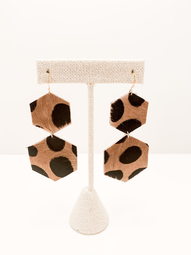Double Hex Earrings
