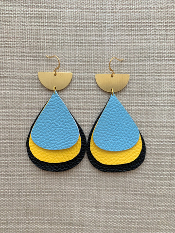 Bahama Relief Earrings