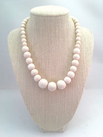 mini graduated bead necklace