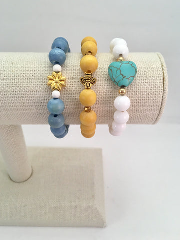 single feature bracelet