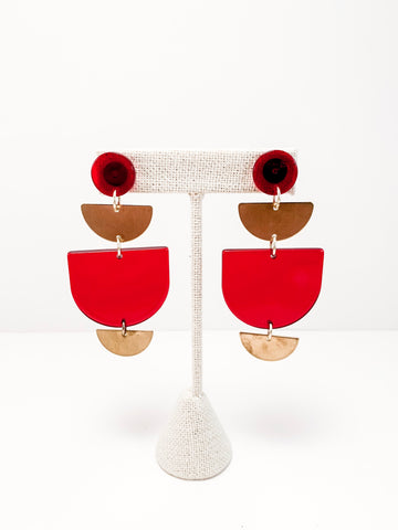 Modern Acetate Earrings