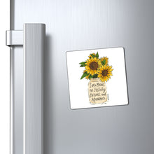 Load image into Gallery viewer, Golden Sunny Affirmations Magnets