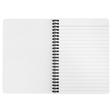 Load image into Gallery viewer, Golden Sunny Affirmations Spiralbound Notebook