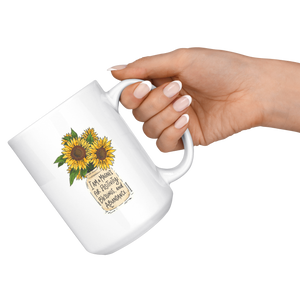 Golden Sunny Affirmations Mug