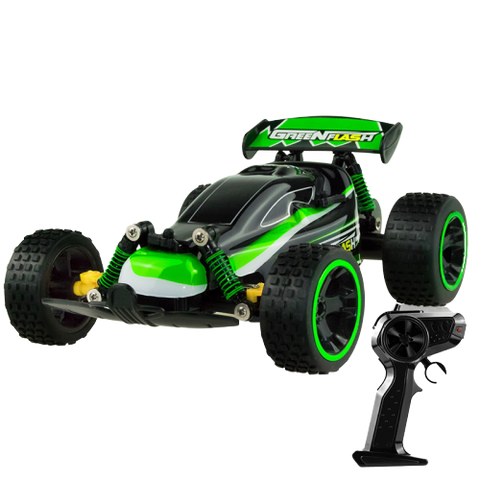 Buggy RC GREEN FLASH et sa manette | VéhTél