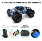 instructions d'installation des piles et batteries
