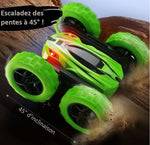 la voiture rc capable d'escalader des pentes à 45°